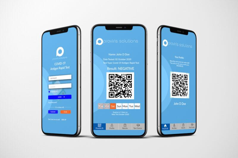 ProvirusPass App for Individuals