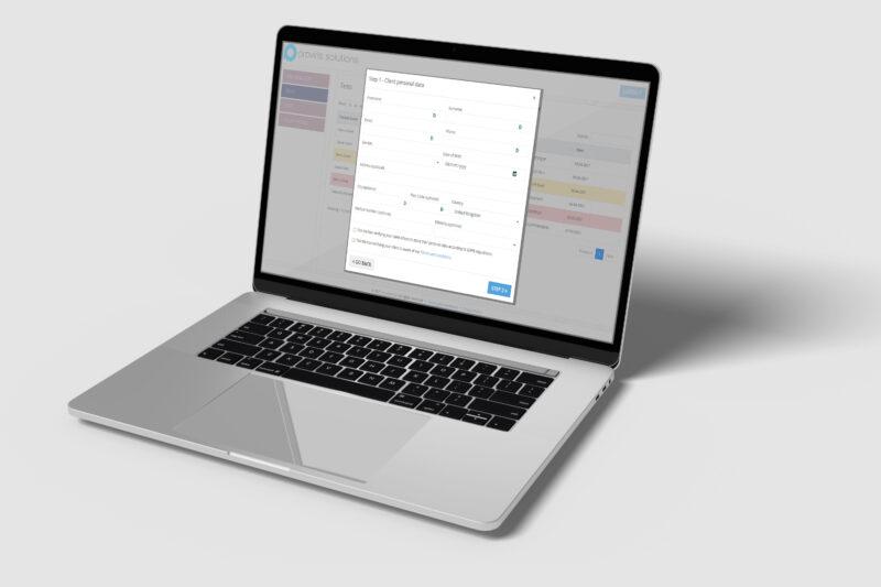 ProvirusPass Web Application for Professionals